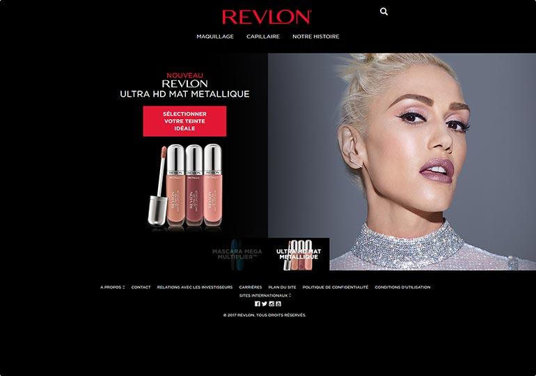 Revlon Site sitecore Desktop 1