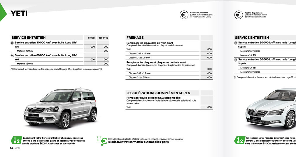 Volkswagen Web to print Catalogue 1