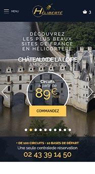 Heliberté Site e-commerce Responsive 1