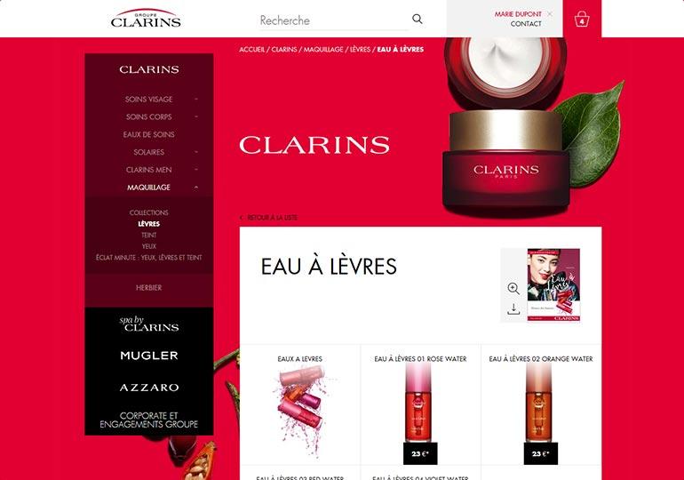 Clarins Espace Presse 1